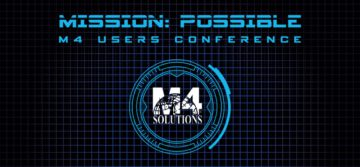 Take Advantage of M4 Users Conference Tracks!