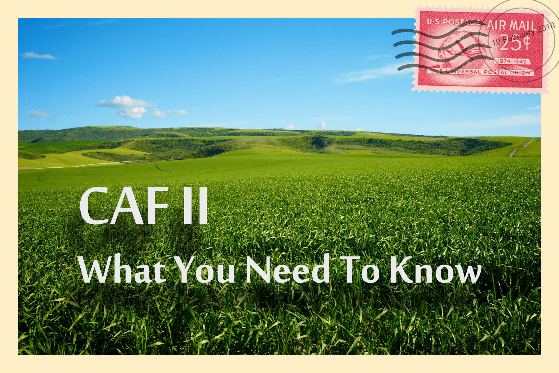 CAF II – What You Need To Know