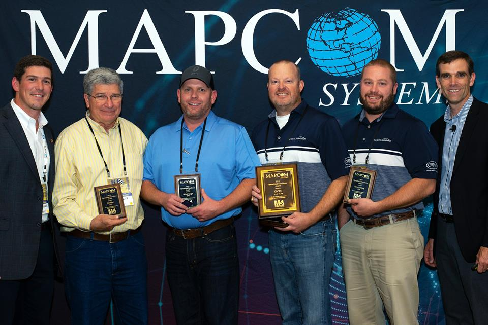 Mapcom Systems Celebrates Award-Winners at 2018 M4 Users Conference