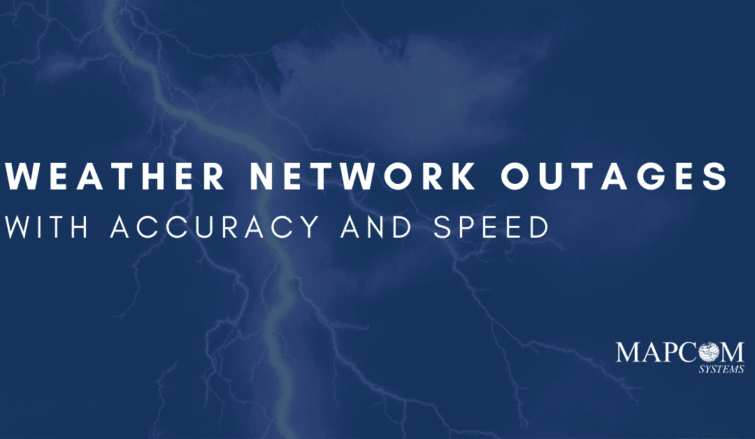 Weather Network Outages with Accuracy and Speed